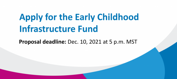 Apply for early childhood infrastructure funding